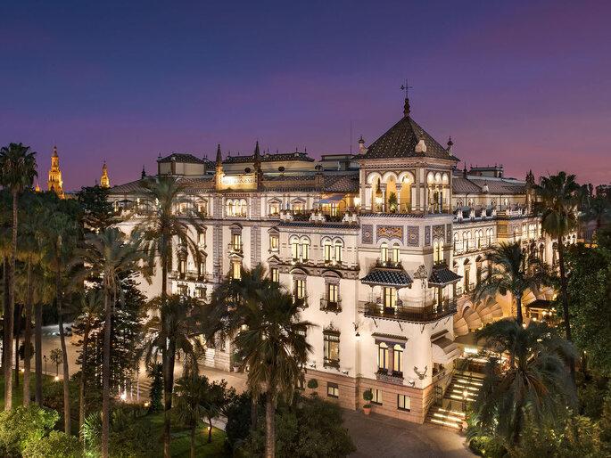 lugar bodas Sevilla Hotel Alfonso XIII