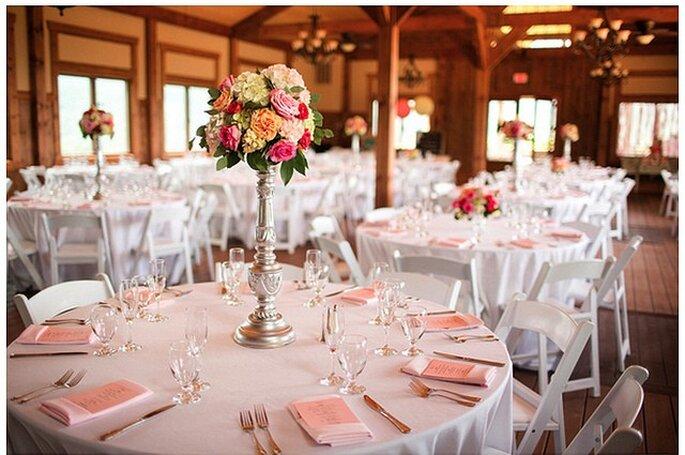Organización de las mesas. Foto: Katelyn James