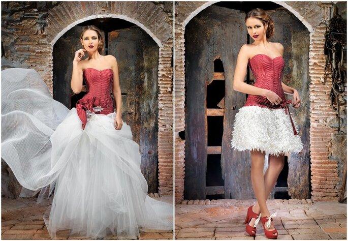 Vestido de novia Boro de Jordi Dalmau 2014. Foto: www.jordidalmau.com