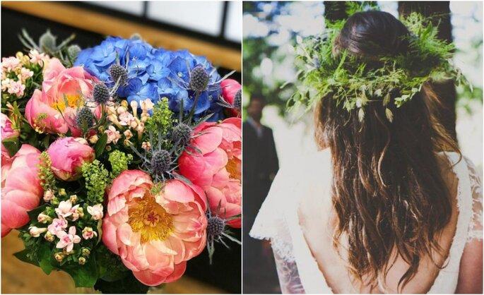 A gauche : L'Atelier de Brice/A droite : Herbes Fauves, photo de Busterlili