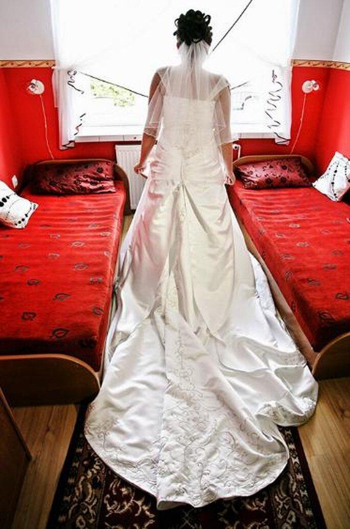 Vestidos de novia. Foto de Jerzy Muszyński.