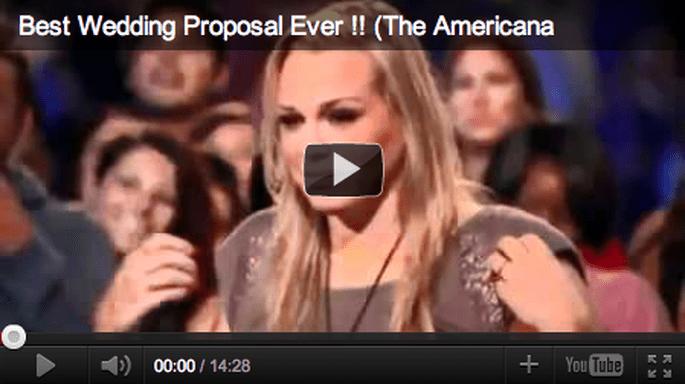 MOBBED Wedding Proposal