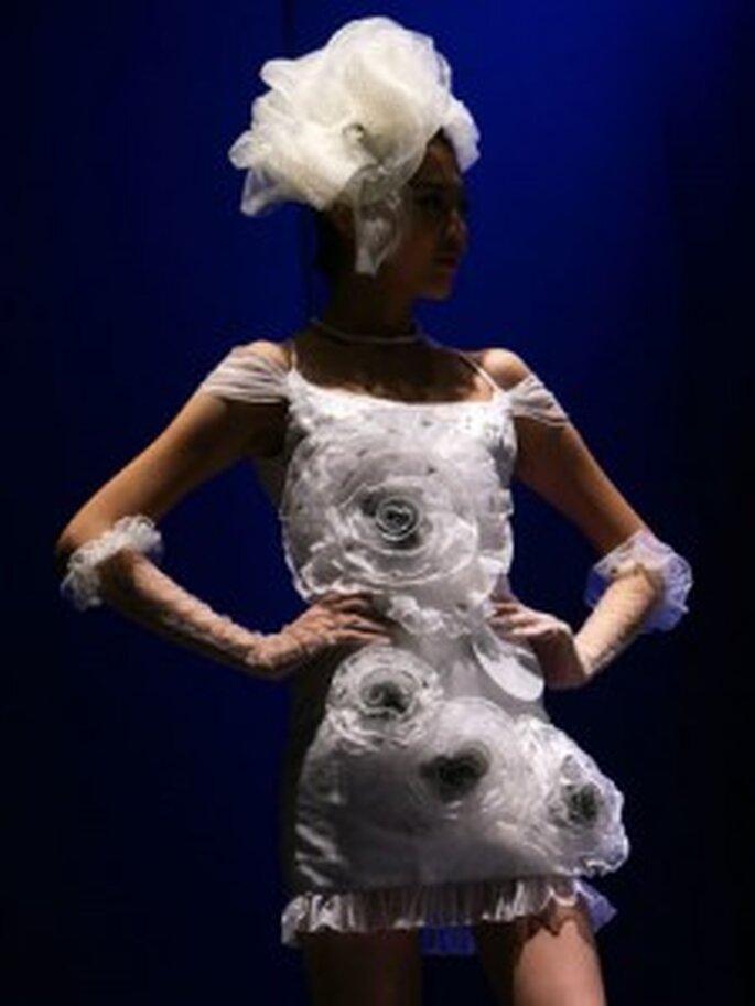 Vestido de novia recargado
