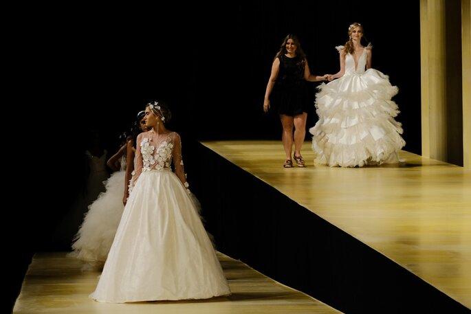Desfile da estilista Carol Hungria. Foto: Namour Filho