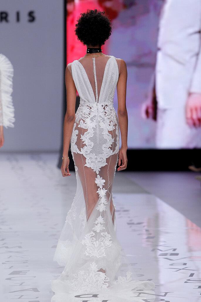 Robe de mariée dos nu original et osé