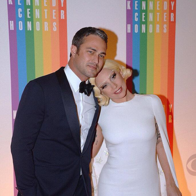 Lady Gaga y Taylor Kinney.