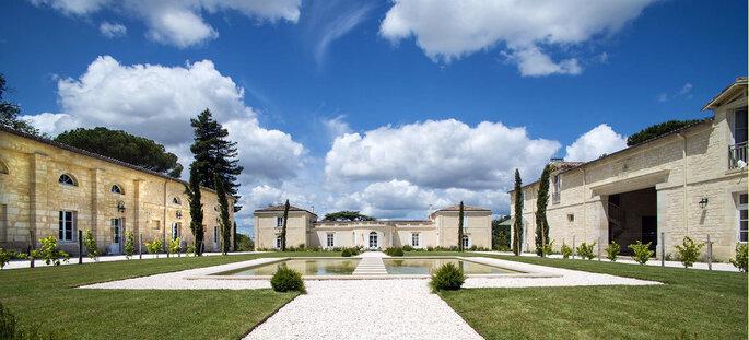Le Château Gassies, lieu de réception à Bordeaux