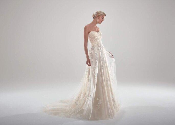 vestido novia Nicole Pronovias