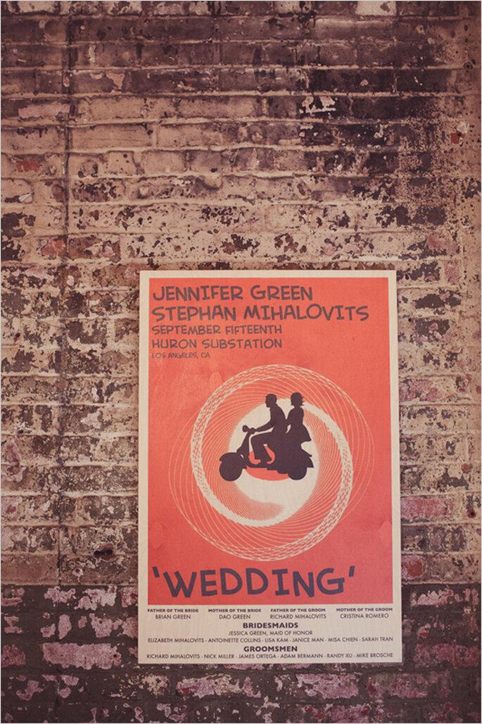 Cómo decorar una boda con estilo industrial - Wildflowers Photography