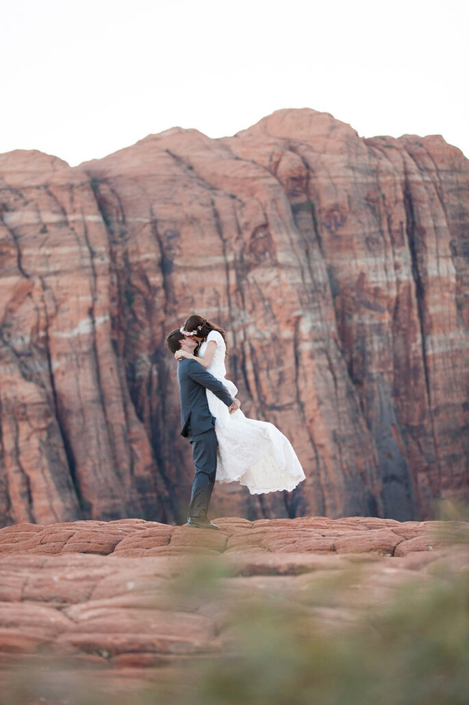 A breathtaking photo session full of nature and natural heights! Photo: Tyler Rye - Fine Art Photographer