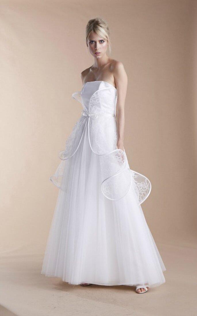 Robe de mariée Suzanne Ermann, modèle Night - Photo : Suzanne Ermann