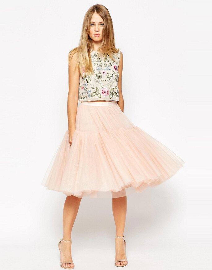 Los 7 tipos de falda que querrás llevar en tu próxima boda 73701bc4fc99