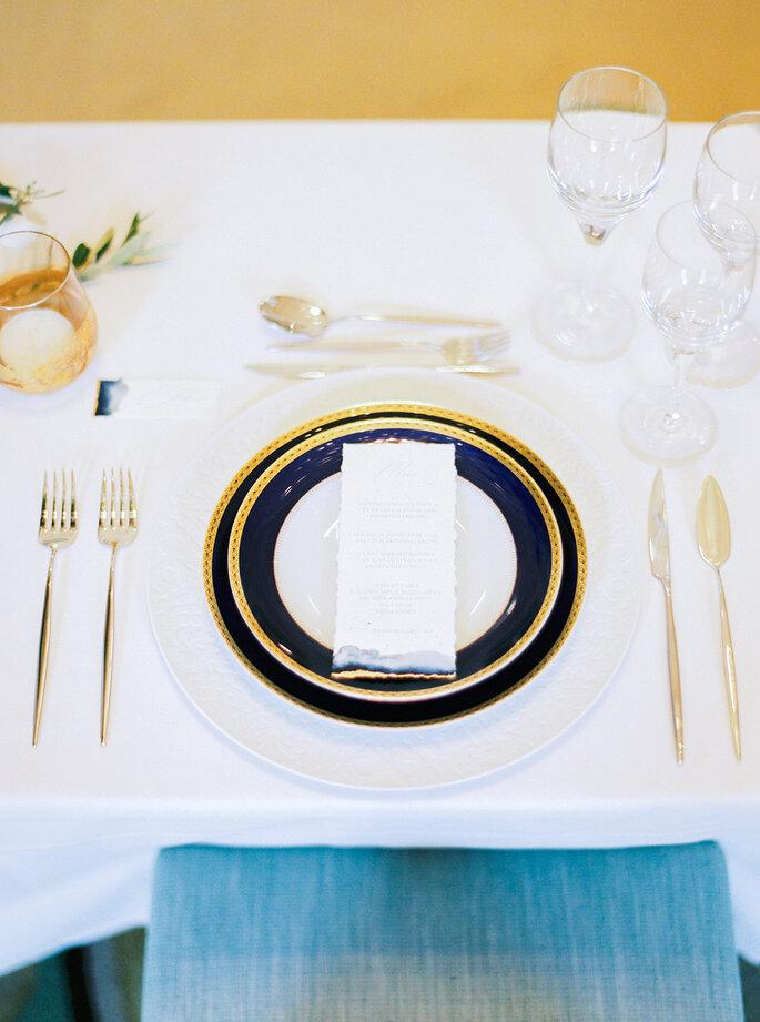 menu de casamento simples e informal