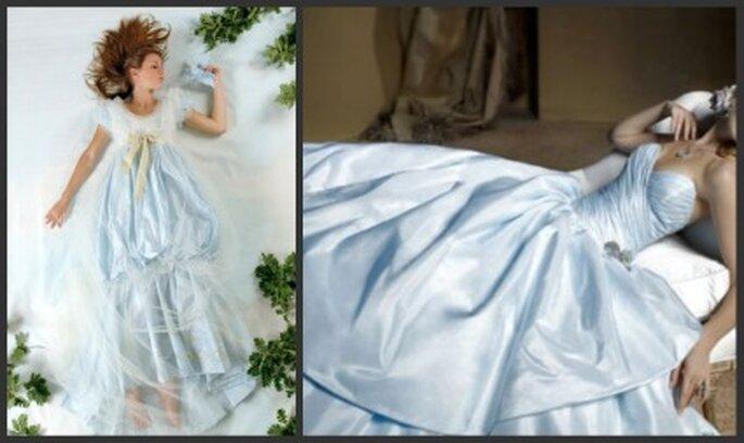 Antiguamente los trajes de novia eran azules