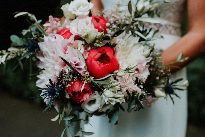 Hochzeitsdienstleister. Blumendekoration