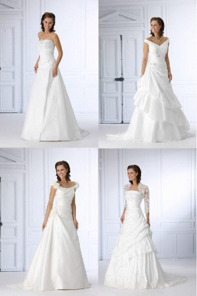Brautkleider von Très Chic aus der Kollektion 2012 - Romantic Bride