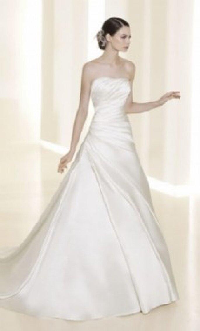 Colección de vestidos de novia de corte princesa Atelier Diagonal 2011
