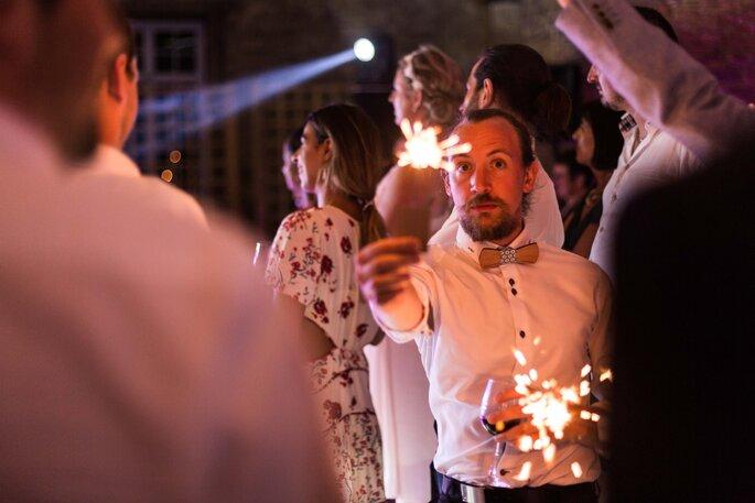 Une fête de mariage immortalisée sur une photo