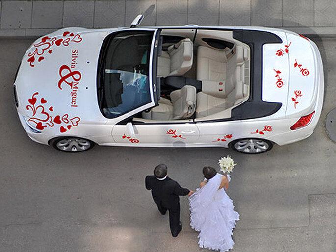 5 consejos infalibles para decorar el coche de la novia - Decoracion coche novia ...