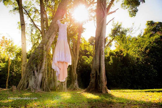 Vestido de noiva: Sol Azulay