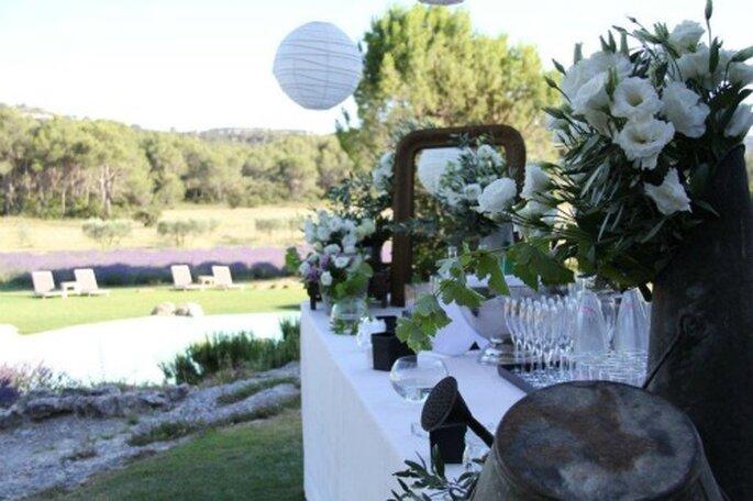 Cocktail de mariage : buffets et ateliers culinaires en plein air