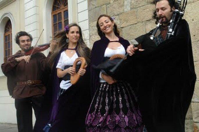 Misa Celta, una buena propuesta musical para casamientos en Colombia