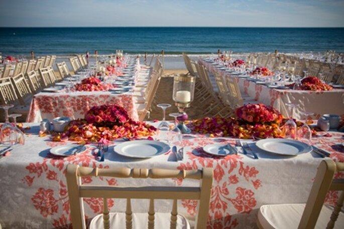 Decoração de um casamento na praia - The Wedding Company