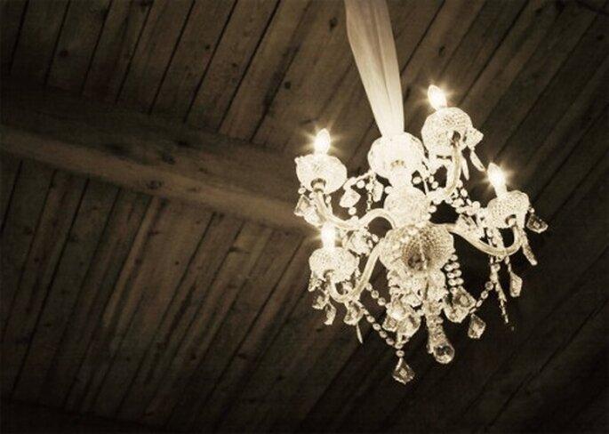 Nada mejor que un candelabro para decorar tu boda - Foto Etsy