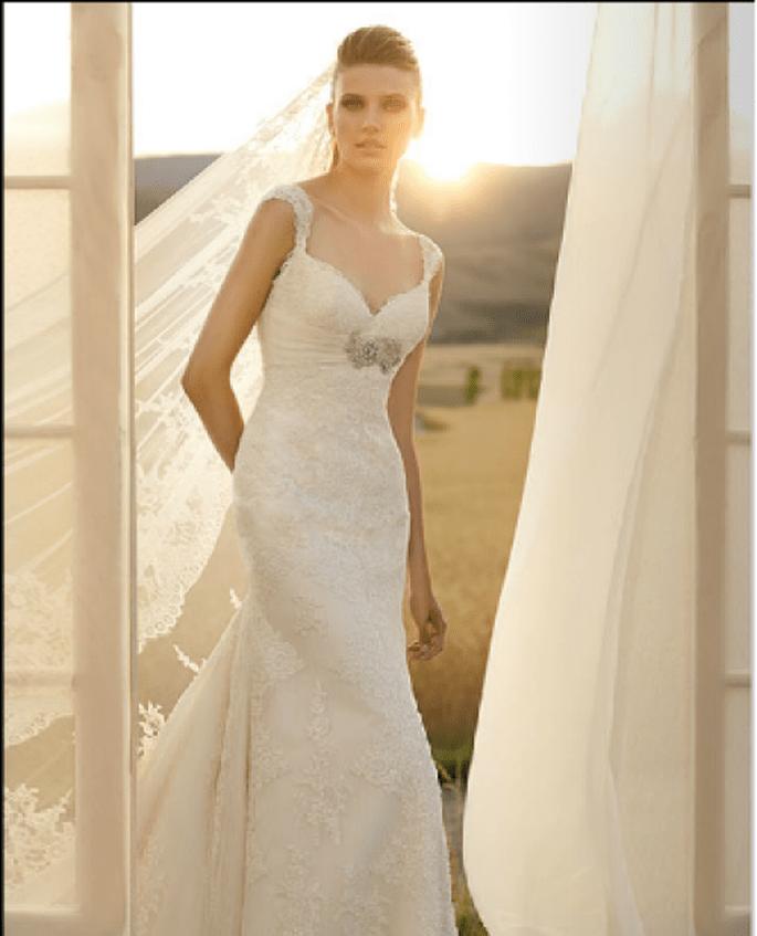 Vestido Susana de la  Colecciones La Sposa 2012