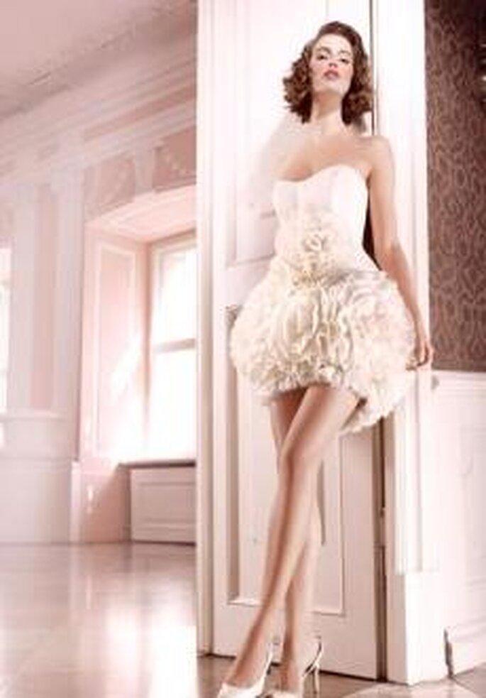 Trend 2011: kurze Brautkleider - Jorge Terra