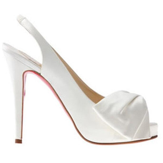 Toute en élégance avec ces souliers Christian Louboutin