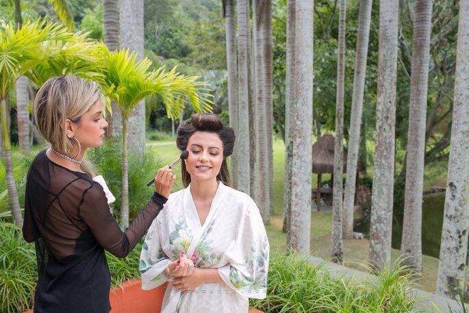 Maquiagem da noiva: Monique Caetano - Fotografia: Itamar de Assis Jr. Photography