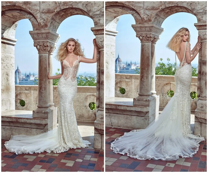 Image: Galia Lahav Ivory Tower Haute Couture Collection, dress 1606 Delphine