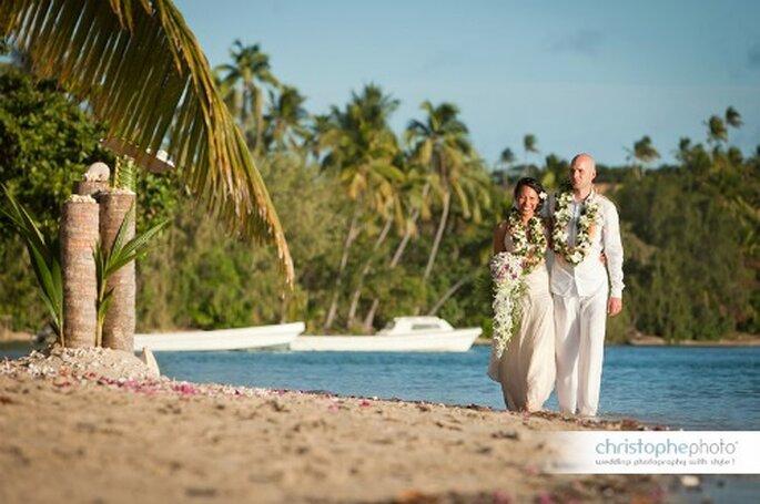 Mariage mixte : on veille au respect de chacune des cultures des fiancés. - Photo : Cesc Giralt