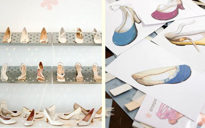 Zapatos de novia Enepe