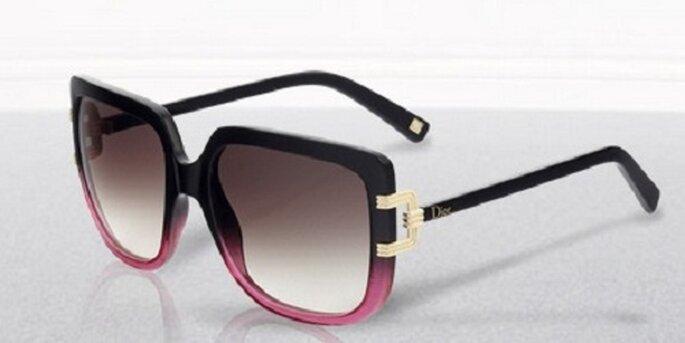 Occhiali da sole bicolor Dior. Foto: dior.com