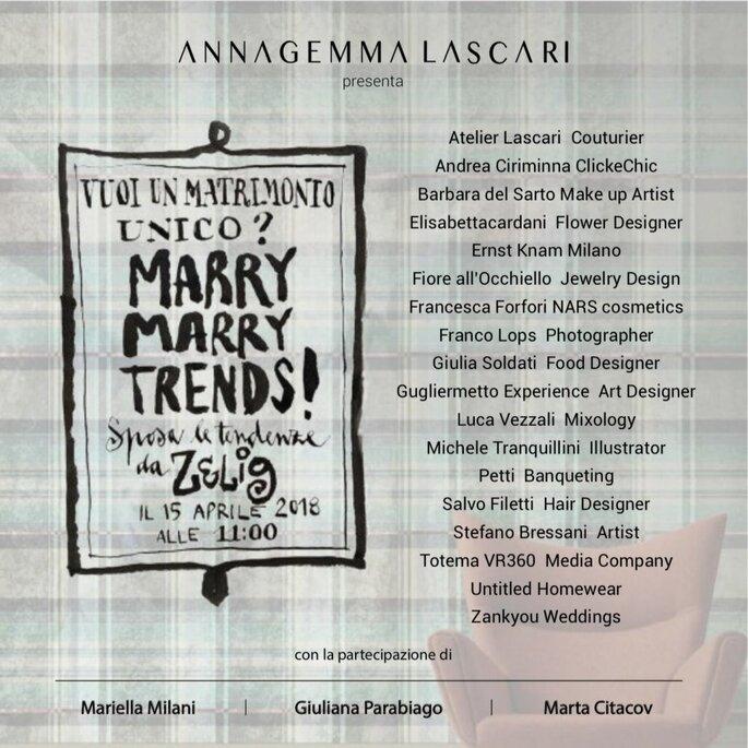 A Marry Marry Trends un un team di eccellenze