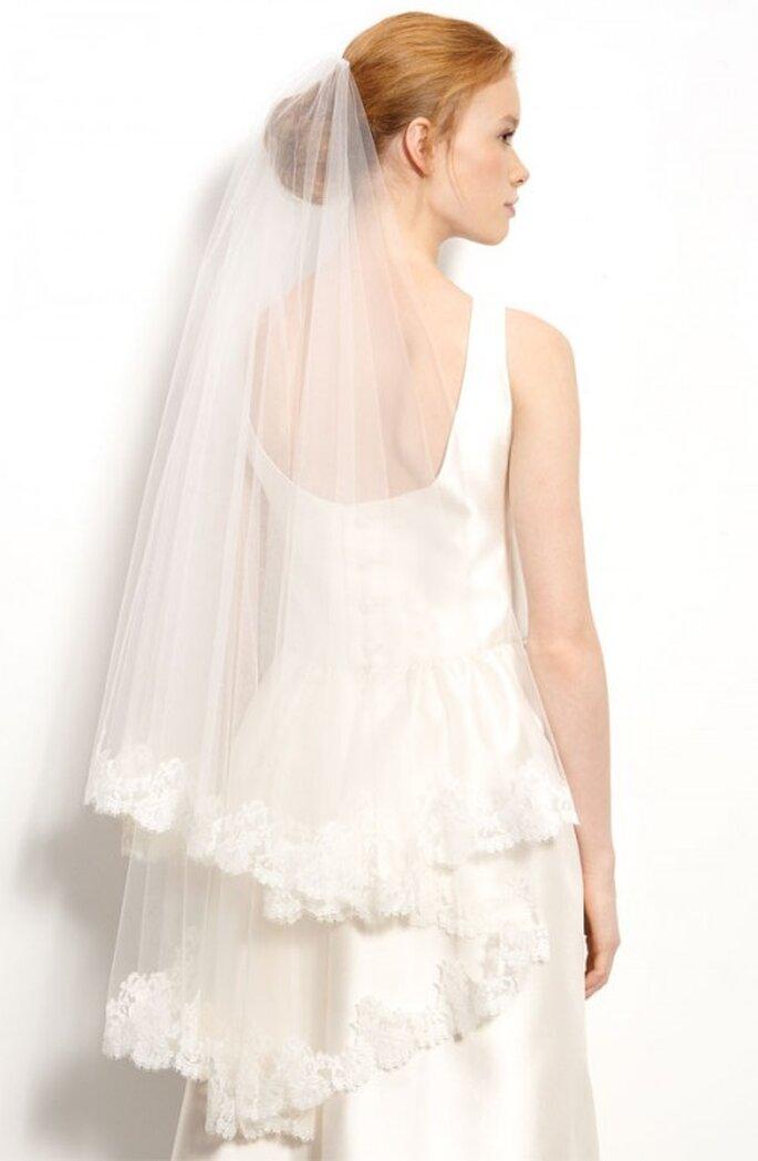 Velo de novia a la yema de los dedos - Foto Nordstrom