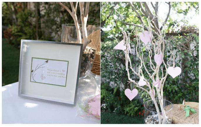 Una boda inspirada en San Valentín con muchos corazones - Foto Sandra Pan