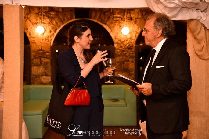 Con Andrea Fusieto Merciari, presentatore ufficiale del Covo