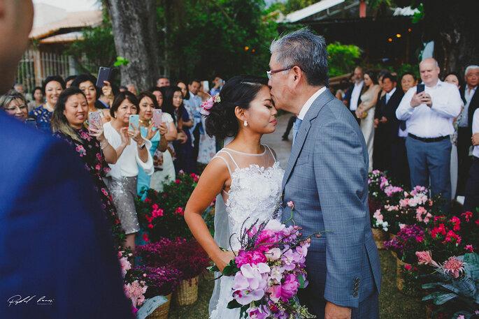 Carinho pai da noiva