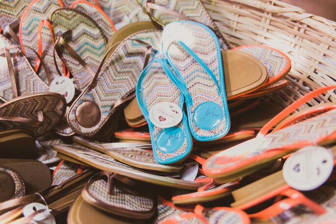 Celebration Shoes - Rasteirinhas Personalizadas