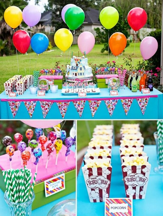 """Buffet gourmand """"Là-haut"""" - Credits Wendy Updegraff Photography"""