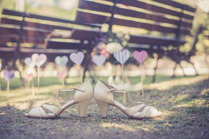 Sapatos da Noiva: Juliana Bicudo | Foto: Valéria Simonin