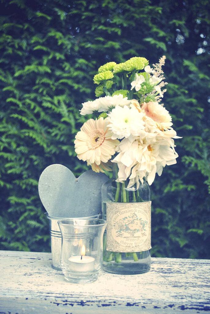 """Déco de mariage """"hand made & vintage"""" : romantique à souhait"""