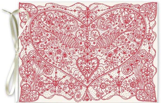 Vintage Love DIY wedding invitations by InviteSite