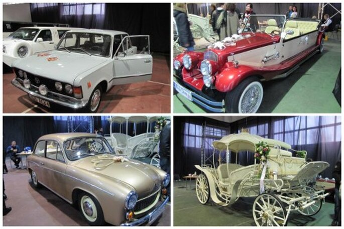 pojazdy do ślubu 2012