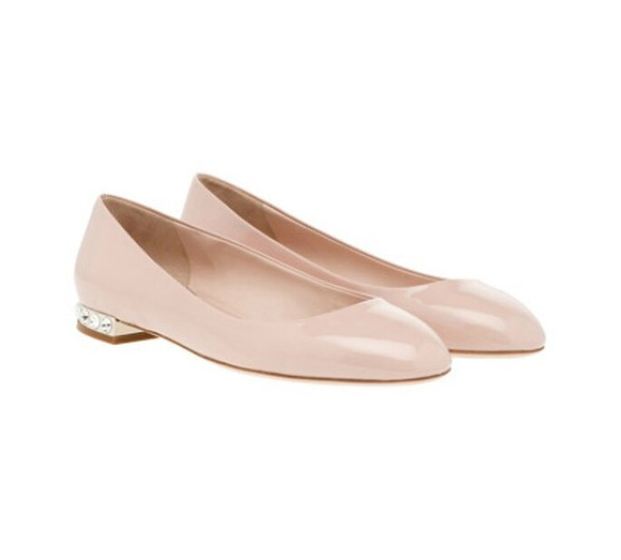 Editors Choice die 10 schönsten-edelsten Brautschuhe, AlexanderMcQueen Foto Net-a-Porter chaussures -nude-mariee-Miu