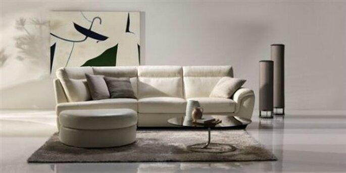 Il modello Cult è perfetto con un arredamento minimal. Divani & Divani By Natuzzi