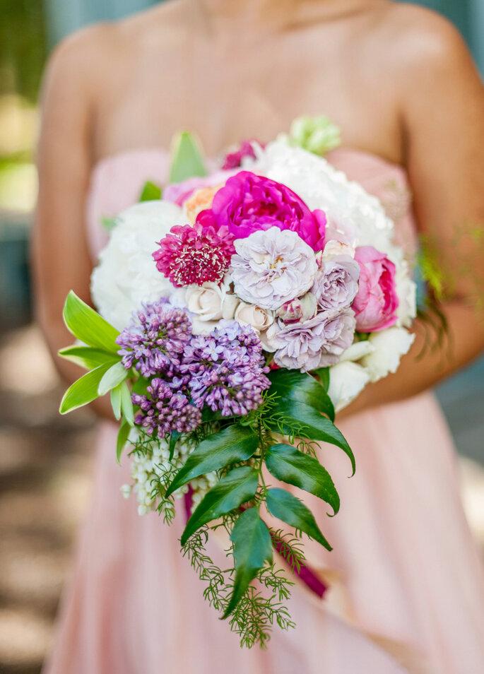 Púrpura en tu boda - Justin & Mary